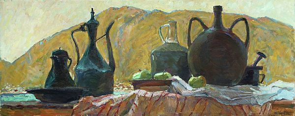 Still Life With Old Utensils