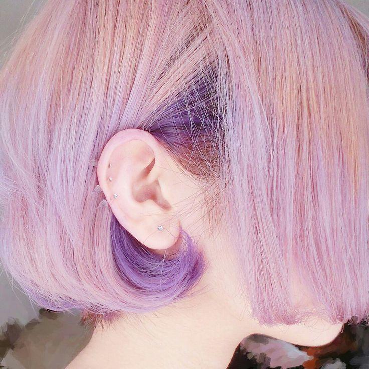Pinterest mermaidreamss ☼ 머리 하이라이트, 자주색 머리, 아름다운 헤어 스타일