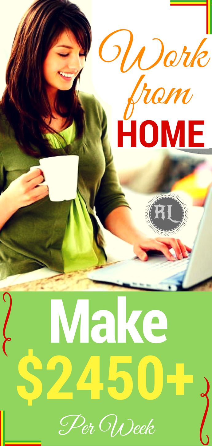 Work from home and make money online ! The Simplest guide to make $2450+ Per Week for Beginners! Click the pin to see how >>>