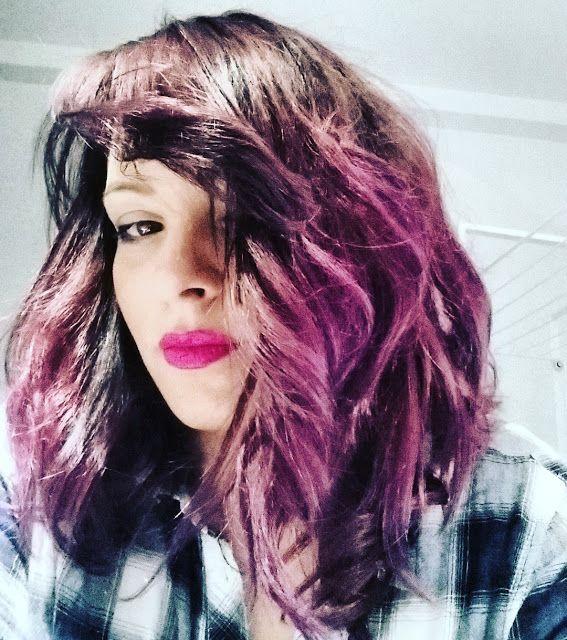 17 meilleures id es propos de cheveux aubergine sur - Couleur violet aubergine ...