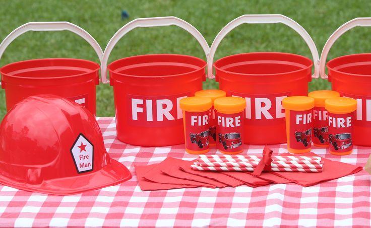 Fire Man Party Supplies - Contact Such Fun www.suchfun.co.za
