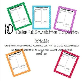 Best 25+ Preschool newsletter templates ideas on Pinterest - free school newsletter templates for word