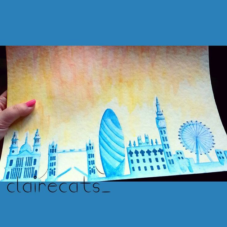 London calling!  That's my entry for the #30daysdrawingchallenge, theme: a place…