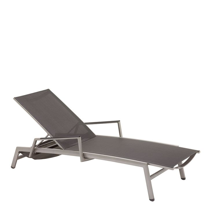 Azore Stacking Lounger (Tungsten / Mercury)