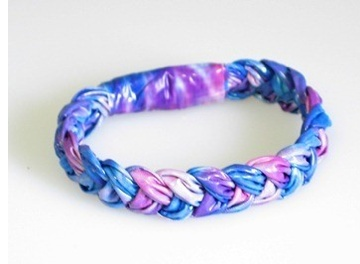 Make bracelets out of duct tape!