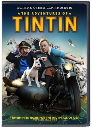 Movie: THE ADVENTURES OF TINTIN on DVD Review