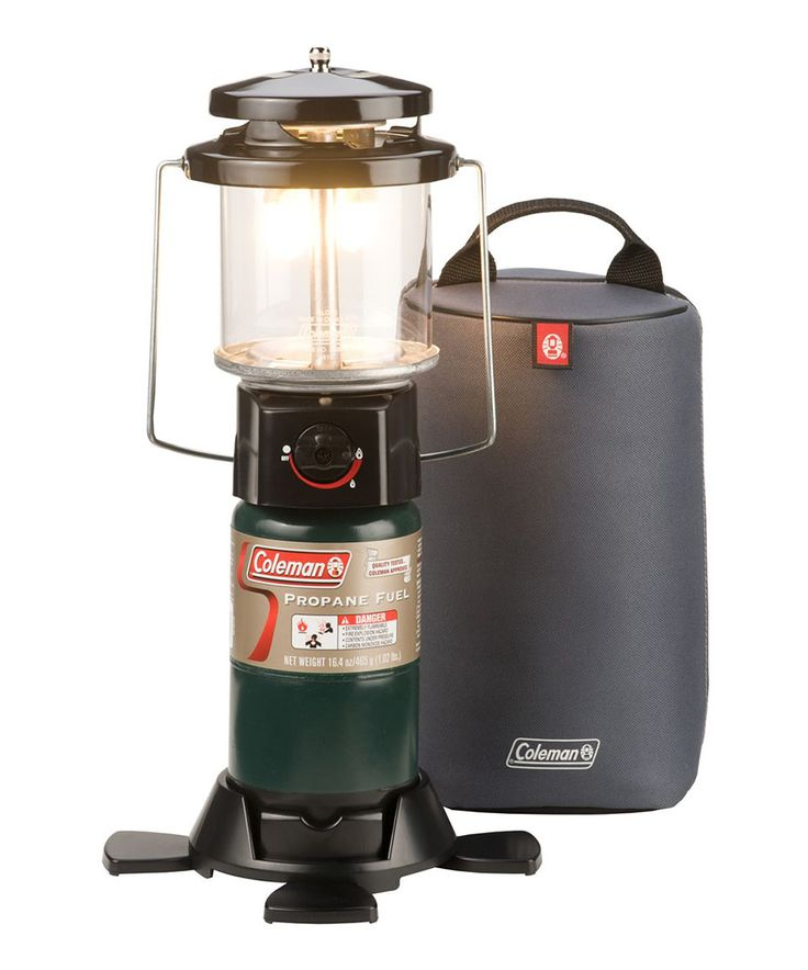 This Deluxe PerfectFlow Propane Lantern with Soft Carry Case by Coleman is perfect! #zulilyfinds