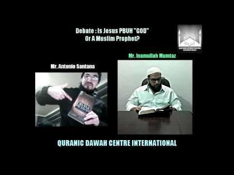 English: Did Jesus create Heavens? with Antonio Santana, Christian Missionary. (by Inamullah Mumtaz) - YouTube