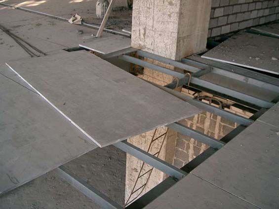 Fiber Cement Sheet Project Case Factory Flooring Fiber Cement Board Flooring Fiber Cement
