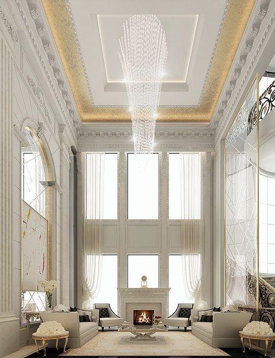 33 best majlis sitting area design by ions design for Luxury interior design dubai