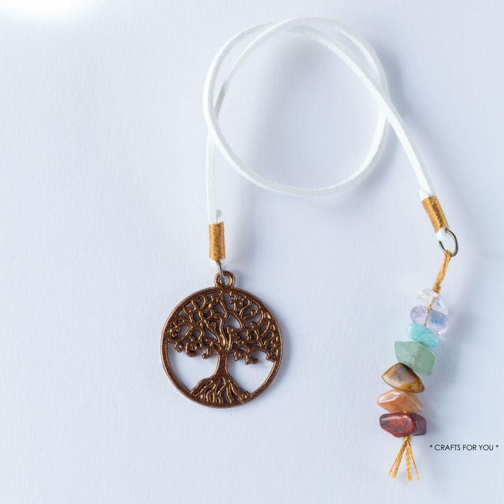 Tree of life & 7 chakra stones-Status: sold.