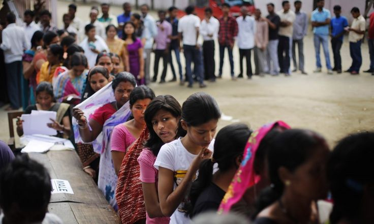 Low voter turn around reported in early hours in Assam votes ....  #Elections2016  #AssamElection2016