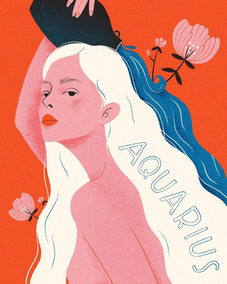 Pretty Portraits of Zodiac Symbols Will Have You Celebrating Your Sign – Nicole Dyl