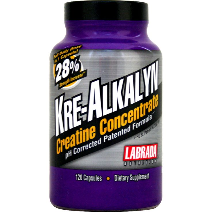 Labrada Kre-Alkalyn Creatine Concentrate 120 ct | Regular Price: $29.99, Sale Price: $20.99 | OvernightSupplements.com | #onSale #supplements #specials #Labrada #Creatine  | Kre Alkalyn is a pH corrected form of creatine that has been chemically designed to have a pH level of 12 alkaline in order to prevent the body from destroying it during absorption At the higher pH the body can absorb more creatine As a matter of fact 1 capsule of Kre Alkalyn is the equivalent of 7 5 gram