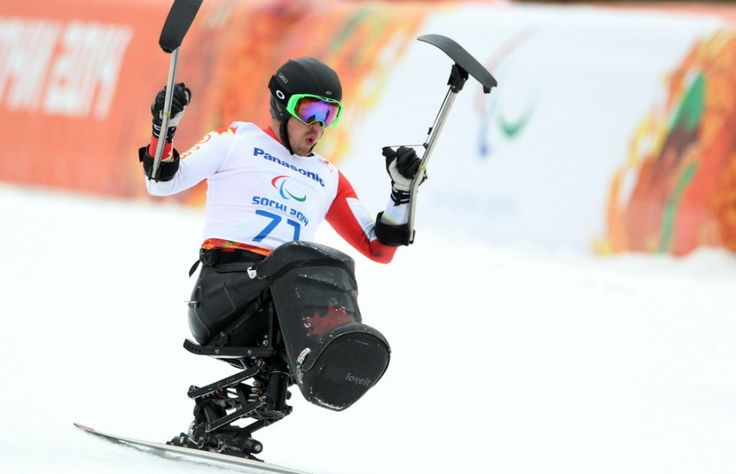 #Sochi - Josh Dueck _ Gold Medal, Super Combined Sit-Ski