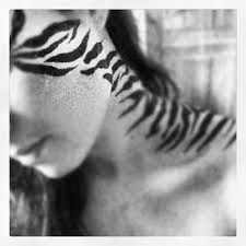 Image result for adult tiger face paint
