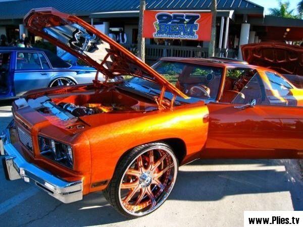 Hip Hop Donk Cars Plies Car Show Super Bowl 2009 Tampa