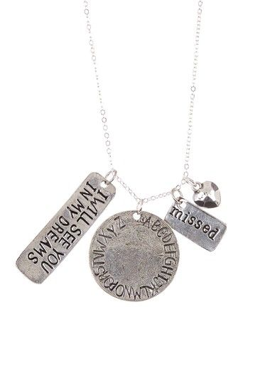 Missing You Necklace