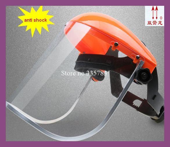 high quality ABS Enhanced anti-chemical splash protective mask anti-shock visor labor safety mask Aluminum alloy edging
