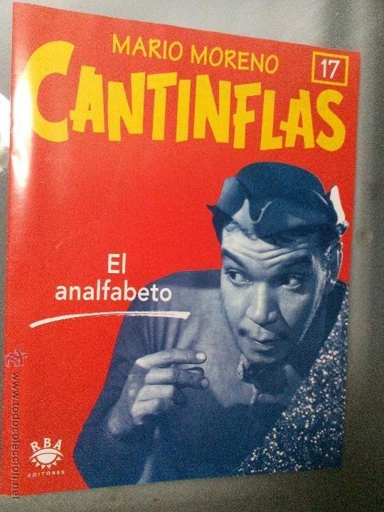 Mario Moreno Cantinflas. Facsiculo 17. El analfabeto. RBA Editores