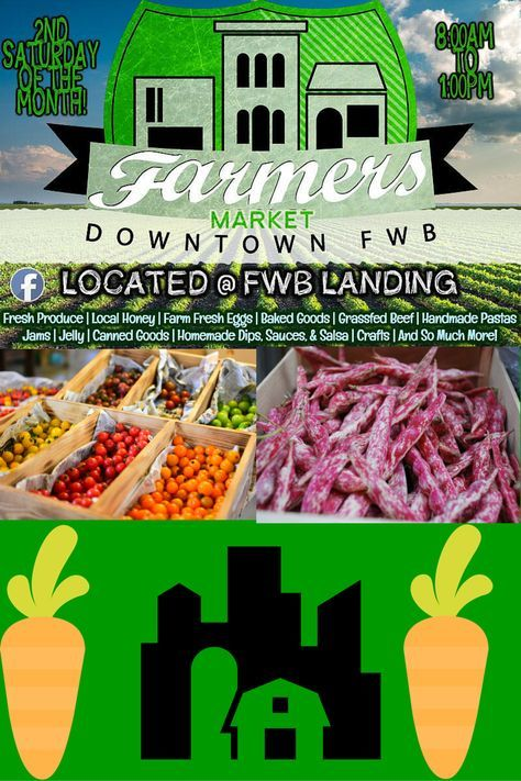 Farmers Market Downtown Fort Walton Beach