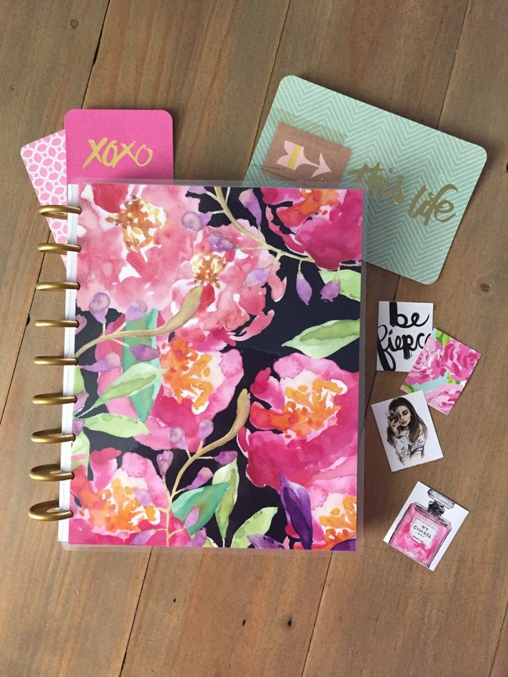 Custom covers for The Happy Planner by Stylish Planners in Etsy shop https://www.etsy.com/listing/268991337/erin-condren-cover-happy-planner-cover