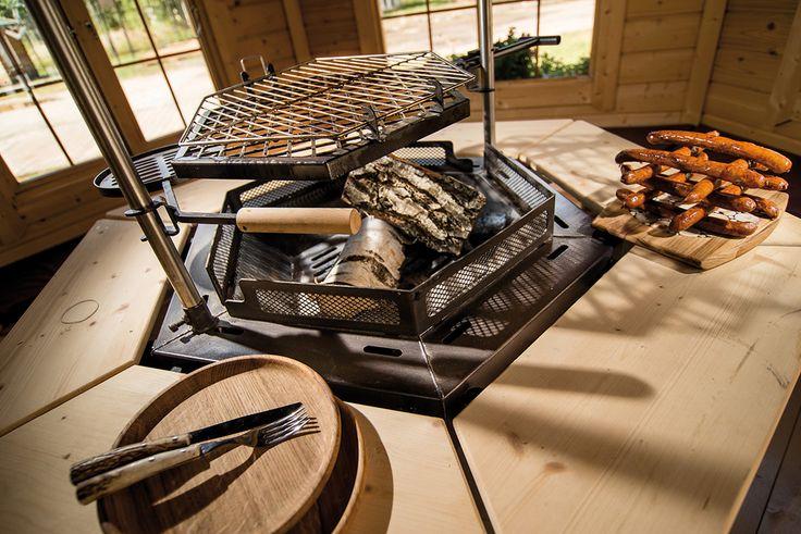 einblick in die grillkota grillkota grillh tte. Black Bedroom Furniture Sets. Home Design Ideas