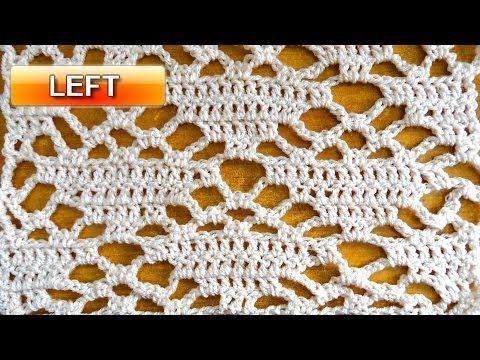 Offset Triangle Stitch - Crochet Tutorial - YouTube