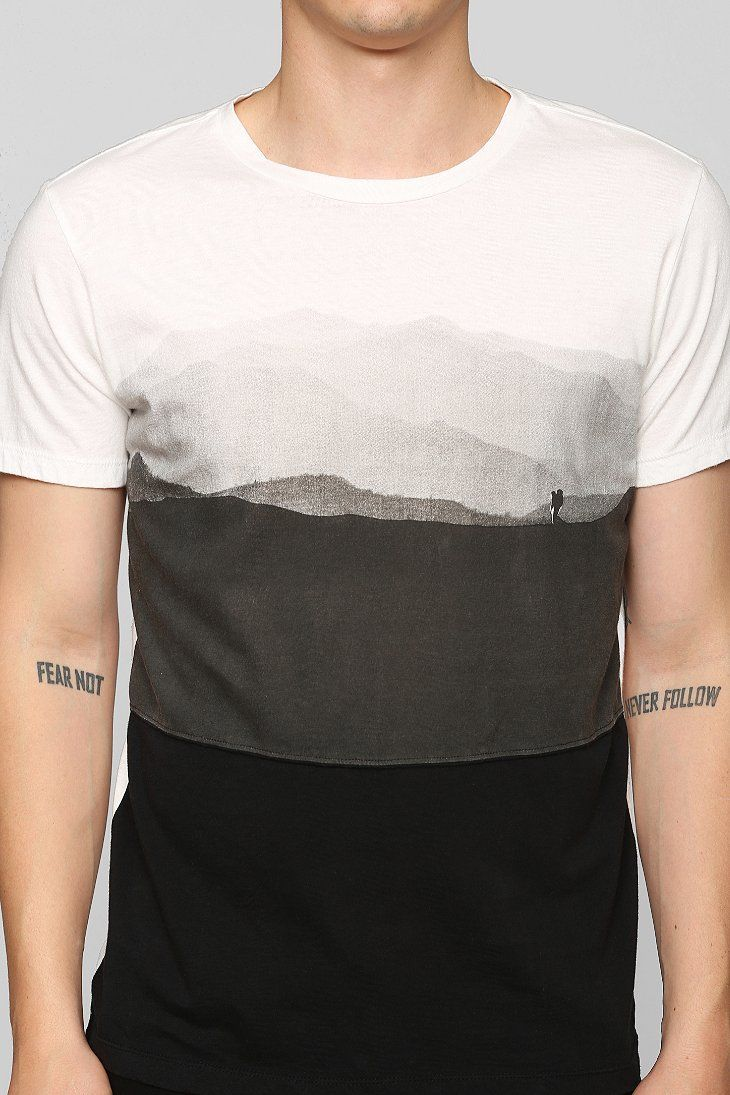 Tee Library Edmund Hillary Tee - Urban Outfitters