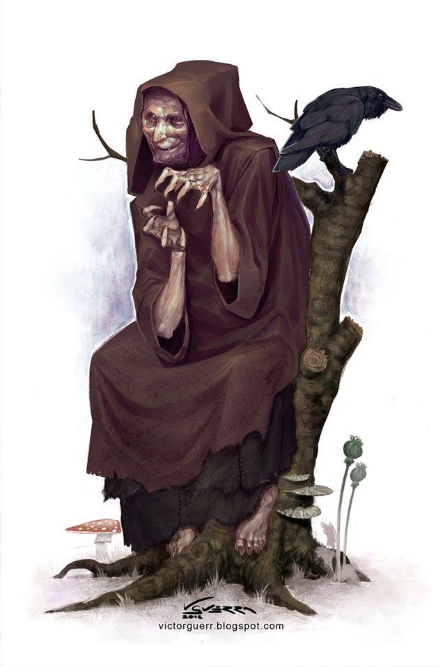 Bruja, criatura para Aventuras en la Marca del Este - Víctor Guerra