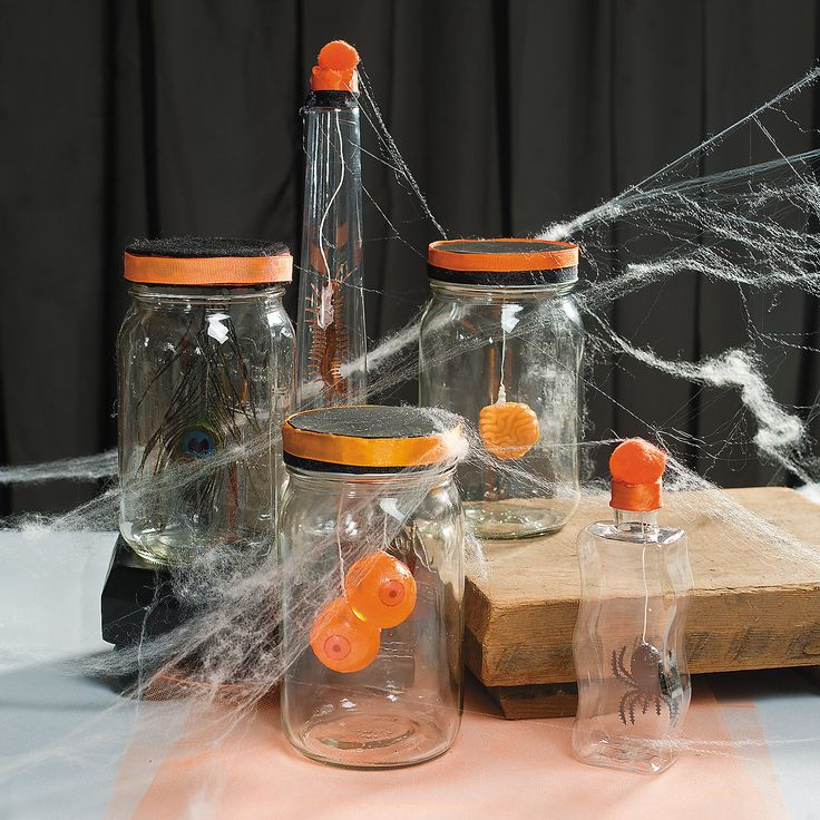 a laboratory without spooky specimen jars just doesnu0027t have the same freaky factor to diy party