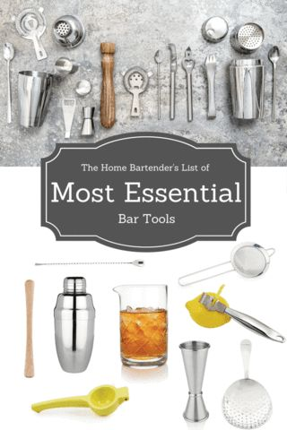 By using some basic drink ingredients, a few quality bar tools and some good recipes: you can begin mixing cocktails with ease that are sure to please. So we've created a list of the most essential bar tools to save you money and get you started on the right foot. Click to check out the list now!