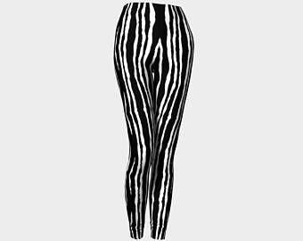 Zèbre, Sport legging, yogaJambières, pantalons, Leggings femmes, imprimé Leggings, pantalons femme, pantalons sexy, leggings sexy, legging