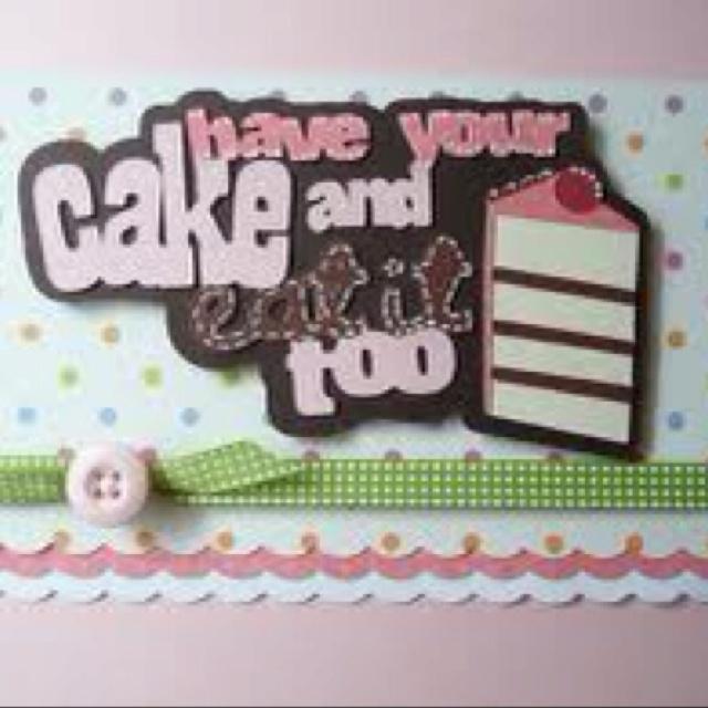32 Best Images About Cricut Sweet Treats On Pinterest
