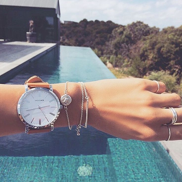 Time to explore with Uncle Jack Tan-White Unisex Watch unclejackwatches.com
