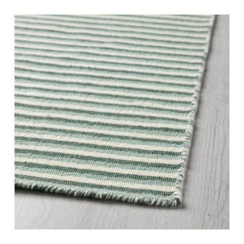 VESTBIRK Rug, flatwoven IKEA The rug is made of pure new wool so it's naturally soil-repellent and very durable.