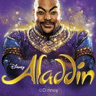 Disney's Aladdin tickets from £32.00 at the Prince Edward Theatre London   An unmissable event, featuring a fabulous cast and orchestra, over 350 costumes, and breathtaking sets and special effects