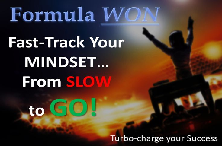 Formula WON 6 Pack Special - Success Activators -Get a MINDSMART GO-Mindset!