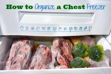 How to Organize a Chest Freezer | FreeCoupons.com
