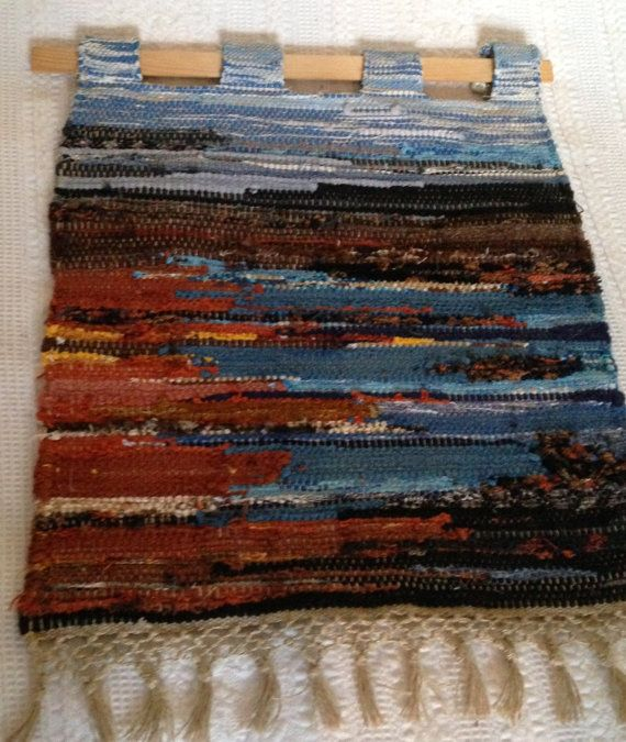 Scandinavian / Swedish handwoven tapestry/wall hang from 80