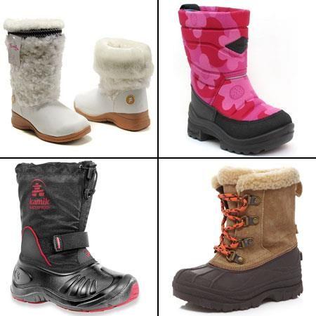 Зимняя обувь детская москва