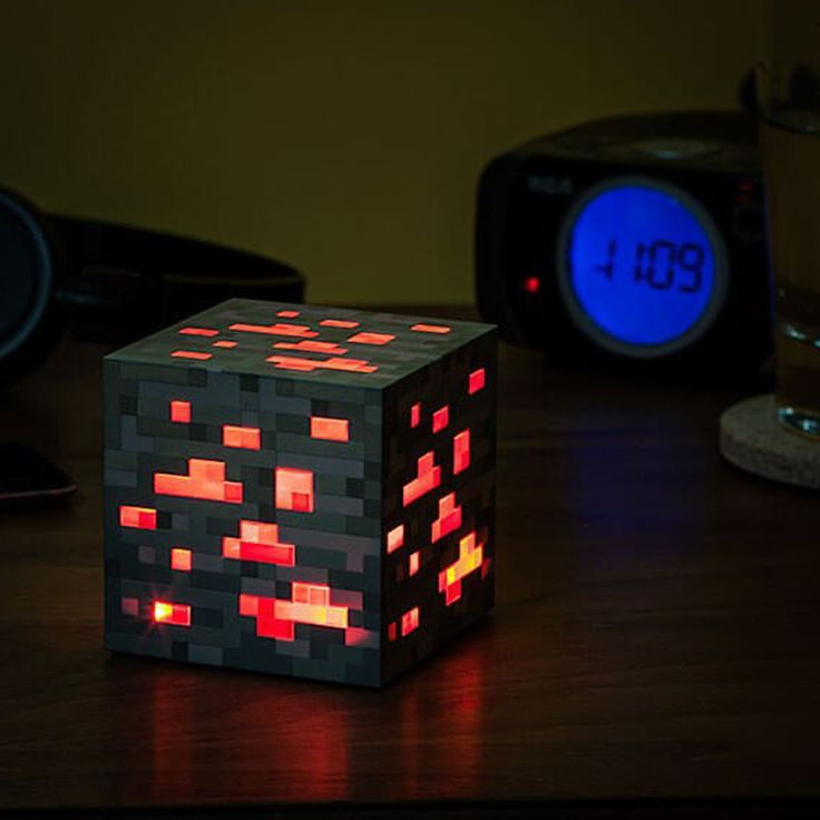 check discount minecraft light up redstone ore square minecraft night light led minecraft figure toys - Diy Entfernbarer Backsplash