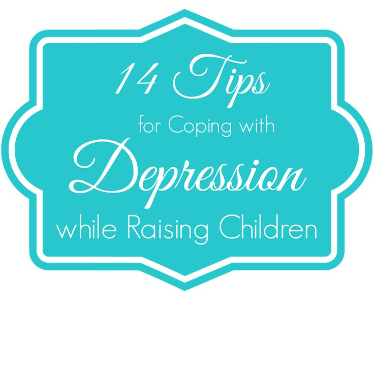 14 Tips for Coping with Depression while Raising Children: Guest Blogger Jenessa from Mothering {In Real Life}