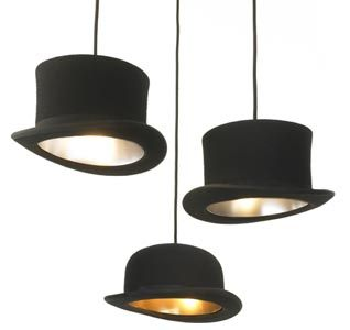 pendant lighting diy. amazing fun weird cool hat lamps 200907250343371111 jeeves and wooster lampshades pendant lighting diy e
