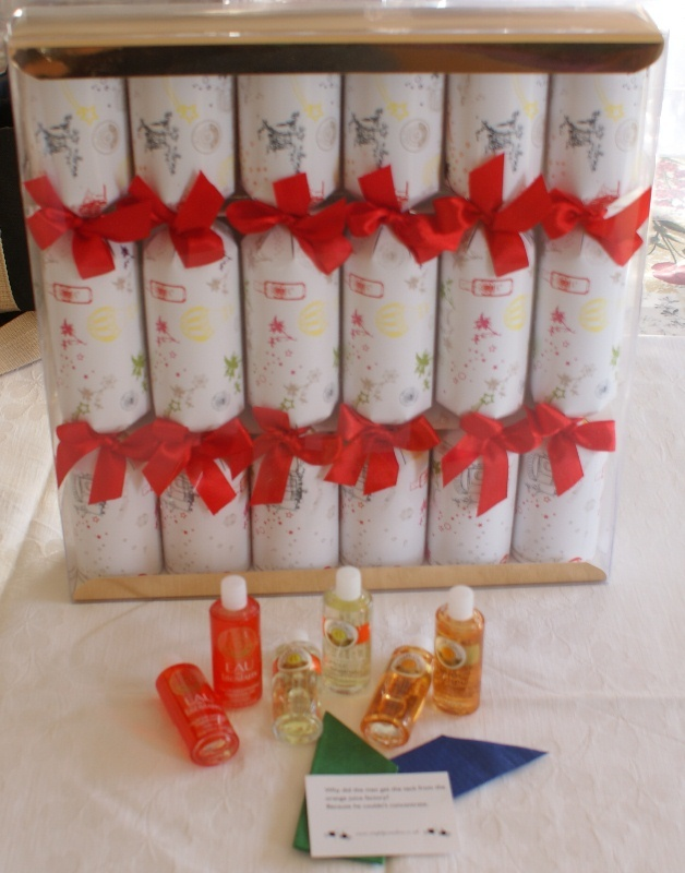Branded Roger & Gallet Christmas Crackers