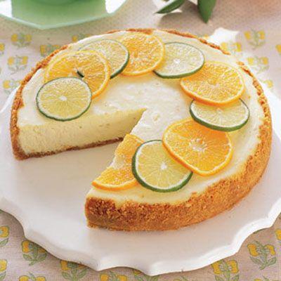 Margarita Cheesecake #spring #desserts