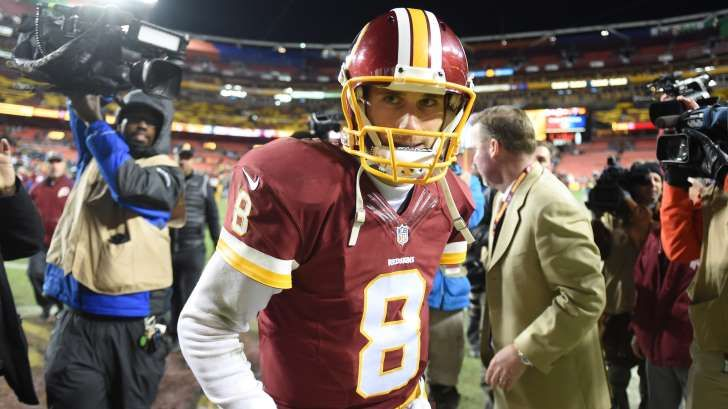 Kirk Cousins and the Redskins have reportedly put contract talks on hold.