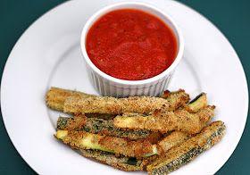 Gluten Free Jersey Girl: GF Zucchini Sticks with 10 Minute Marinara Sauce (Paleo-Friendly)