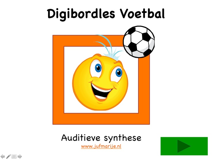 Digibordles Voetbal
