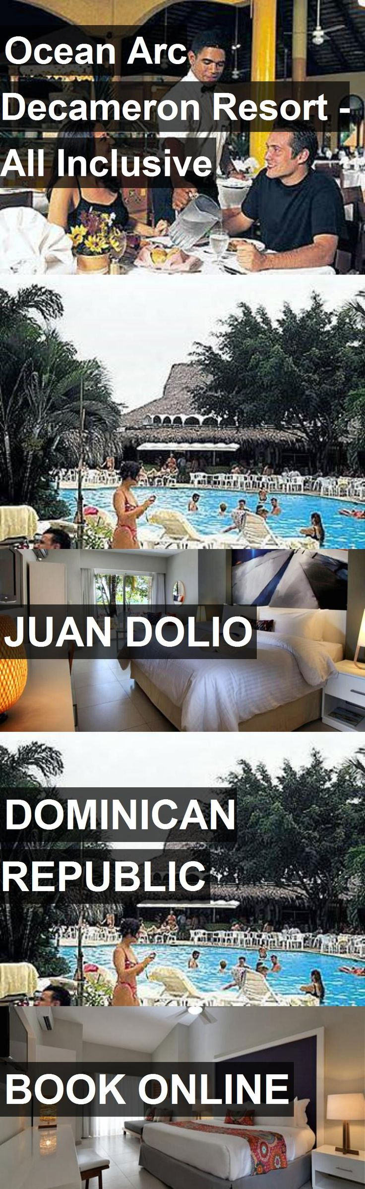 Hotel Ocean Arc Decameron Resort - All Inclusive in Juan Dolio, Dominican Republic. For more information, photos, reviews and best prices please follow the link. #DominicanRepublic #JuanDolio #travel #vacation #hotel